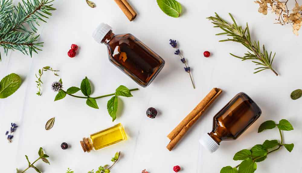 ingredients for essential oils